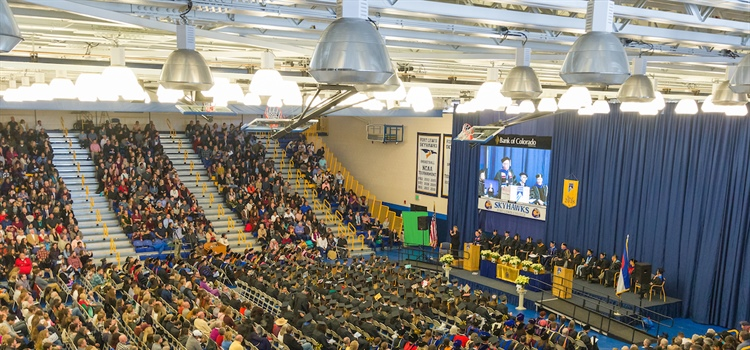 Spring Commencement set for April 26 & 27