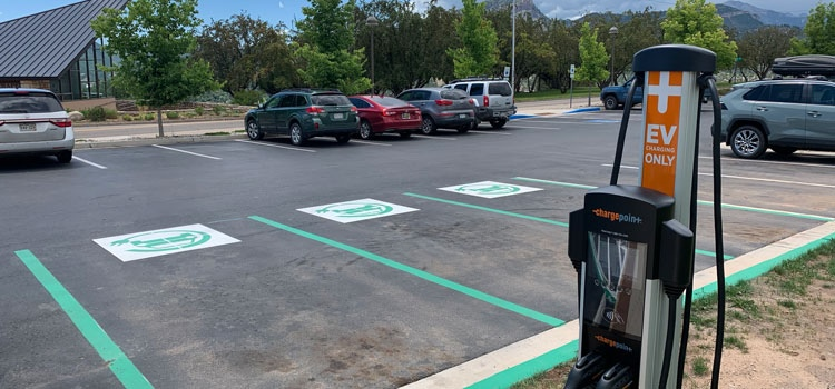 Clean commuters can now charge their electric vehicles at FLC