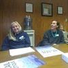 Marketing students present promotional plans to Humane Society
