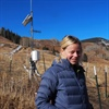 Professor Heidi Steltzer studies alpine plants for climate change