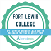 FLC recognized by LendEDU for one of the lowest student loan debt figures in the country