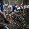 Skyhawks cycling alumna Sofia Gomez Villafañe competes in elite women's mountain biking races