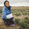Audrey Harvey (Environmental Studies, '11) connect to her roots through restoration ecology