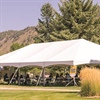 FLC transforms outdoor spaces into classrooms with the help of tents