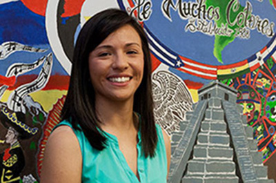 Undocumented & unstoppable: FLC alumna Marissa Molina, 2014, Political Science.