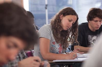 FLC students in a classroom
