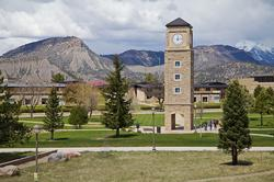Fort Lewis College as seen here is a major source for jobs in Durango, Colorado.
