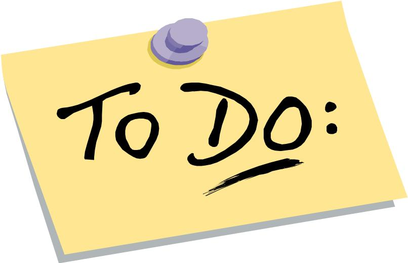 Image of to do post it note