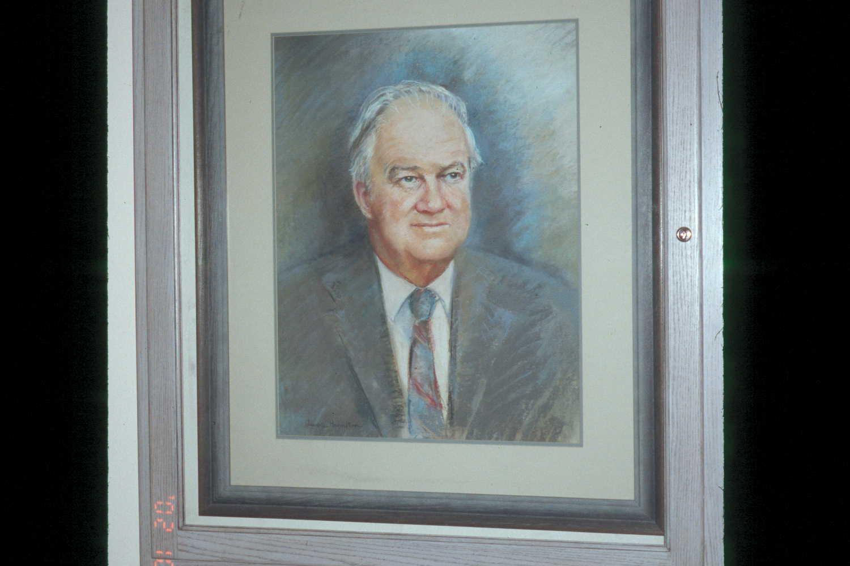 Rexer Berndt portrait painting