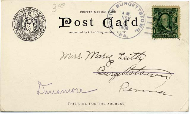 Post card image