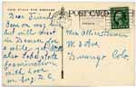 Address side of postcard -- click to view larger image