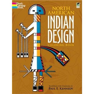 North American Indian Deisgn Coloring Book