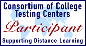 participant in the consortium of college testing centers