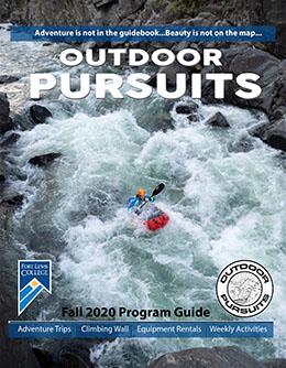 Outdoor Pursuits Program Guide - Fall 2020