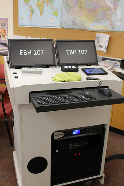 EBH 107 workstation view