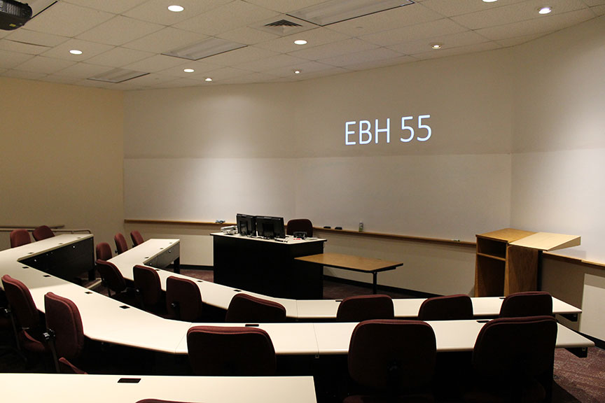 EBH 55 classroom view