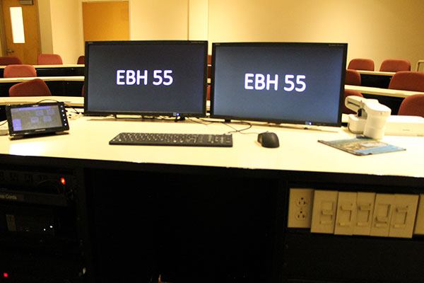 EBH 55 AV equipment view