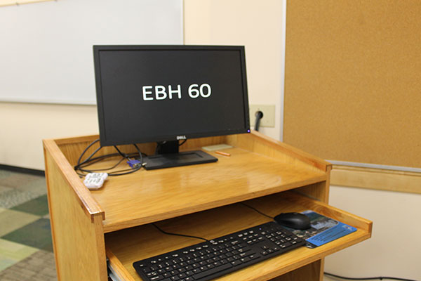 EBH 60 workstation view