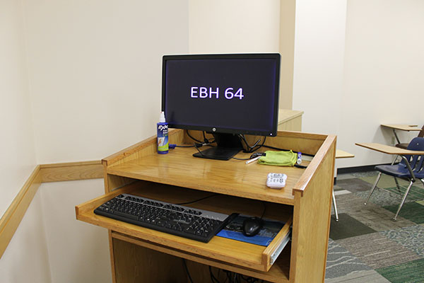 EBH 64 A.V. equipment workstation